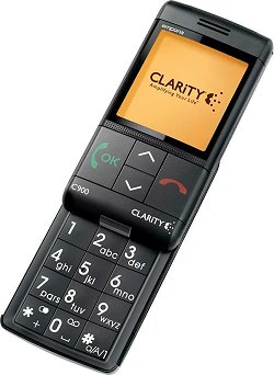 The Clarity C900, Amplified Cellular Phone.